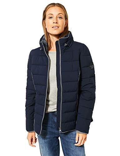 Cecil Damen 201481 Gesteppte Jacke Steppjacke, deep Blue, XX-Large