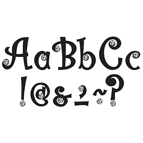 Teacher Created Resources 75174 7-Inch Bling Letters with Jewels