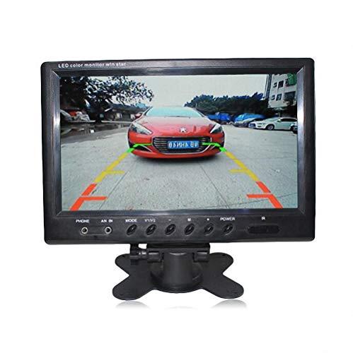 LWTOP Voiture 9 Pouces Affichage de Bureau, Voiture HD Desktop Display Voiture antenne caméra numérique écran AV