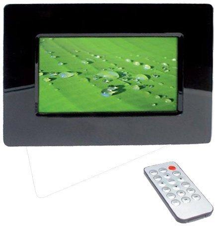 Technaxx P-Movie Digitaler Bilderrahmen (17,8 cm (7 Zoll) Display) inklusive Uhr und Kalenderfunktion