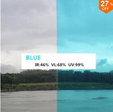 Inovey 152X66Cm Coloré Transparent Fenêtre Verre Film Écran Pare-Soleil Isolation Chaleur Décoration - Rose