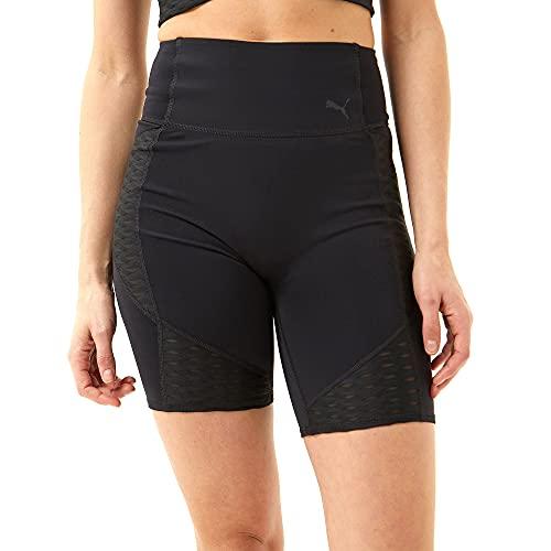 PUMA Train Flawless 7` Short Pantalones Cortos, Mujer, Black, L