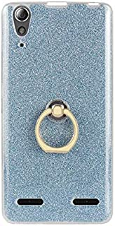 SIZOO - Fitted Cases - Fashion Silicone Holder Case for for Lenovo K3 Transparent Soft TPU Glitter Colorful Luxury Ring Ba...