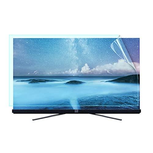 JHZDX 58 Pulgadas TV Anti-Blue Light Protection Film, TV LCD Protector de Pantalla Anti-Smashing/Anti-Glare/Anti Scratch Film para Sharp, Sony, Samsung, Hisense, LG,58' 1269 * 721