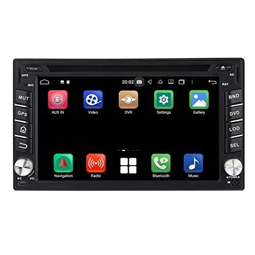 Android 10.0 Autoradio Coche para Hyundai Tucson(2004-2009), 4 GB RAM 32 GB ROM, 6.2 Pulgadas Pantalla Táctil Reproductor de DVD Radio Bluetooth Navegación GPS
