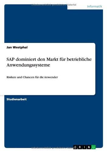 SAP Dominiert Den Markt Für Betriebliche Anwendungssysteme