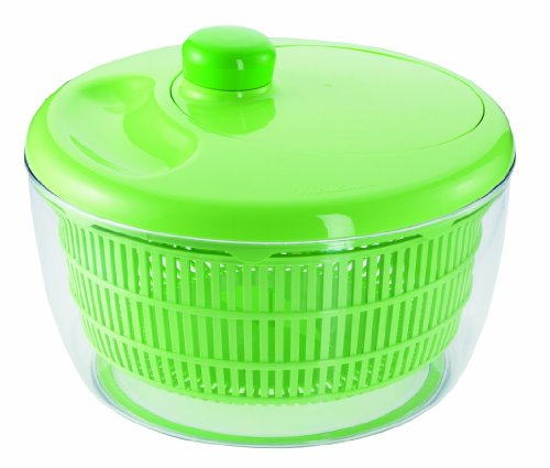 Moulinex M80003 Color Art Salatschleuder mit Schüssel, 26 cm, apfelgrün