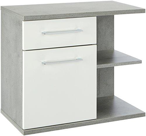 Pelipal 370 Fresh Line Grey onderkast, houtdecor, betonlook, 33,0 x 60,0 x 53,0 cm