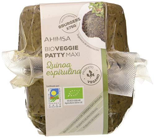 Ahimsa Burguer Vegetal Maxu Quinoa Y Espirulina 600 Gr 600 Gramos 300 g