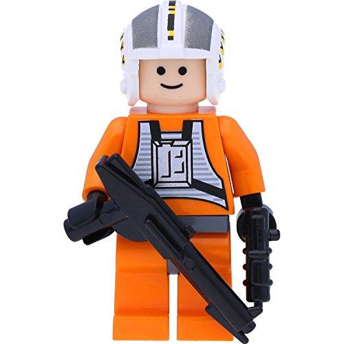 LEGO Star Wars - Figura de piloto de la Alianza Rebelde Wedge Antilles