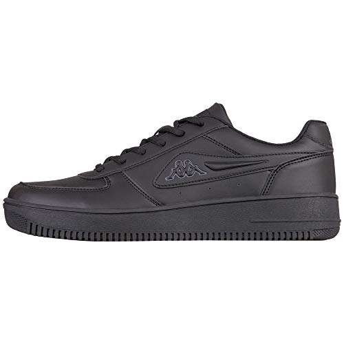 Kappa Bash buty sportowe dla dorosłych, uniseks, czarny - Schwarz Black Grey 1116-44 EU