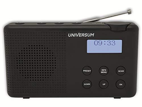 Universum DAB Digitalradio, UKW Radio, mit Kopfhörerausgang und Akku DR 200-20