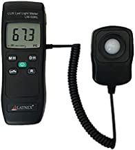 Light Meter LM-50KL Measures Lux/Fc – LED/Fluorescent, Industrial, Household, and..