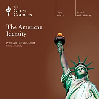 The American Identity audiobook cover art