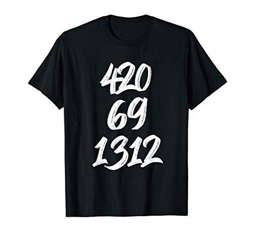420 Shirt 1312 Shirt - Sex, Drugs, Rock & Roll Shirt