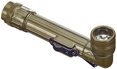 Mil-Tec Small LED Anglehead Flashlight (Olive)