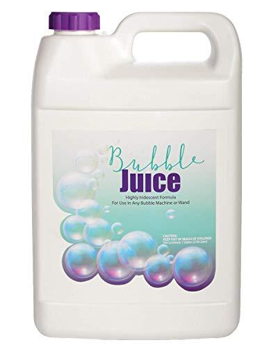 Extreme Color Bubble Juice - Long-Lasting Lustrous Bubbles for All Bubble Machines and Bubblers - 1 Gallon