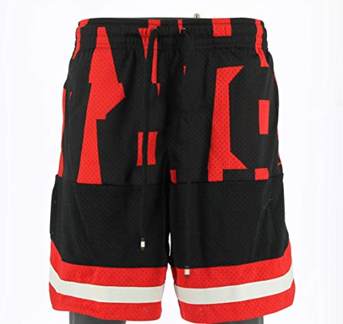 Nike M NSW Air Short Mesh Herrenhose XL Rot/Schwarz (University Red/Black/Black)