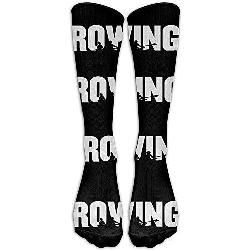 NA Happy Rowing nonchalante sokken Unisex sokken Sport Athletic Crew Socks One Size