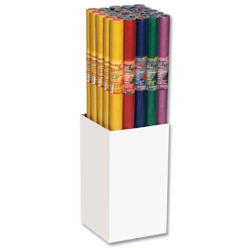 Geschenkpapier-Rolle 70cmx2m Natron sortiert beidseitig Unterschied-, Liefermenge = 25