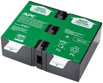 APC Replacement Battery Cartridge #124 - UPS battery - lead acid (APCRBC124) -