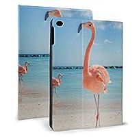 IPad Mini5 ケース 2019 第五世代 モデル カバー Pink Flamingos 超薄型 超軽量 PUレザー スマートカバー 傷防止 耐衝撃 TPU 保護 キズ防止 指紋防止 7.9インチタブレット用