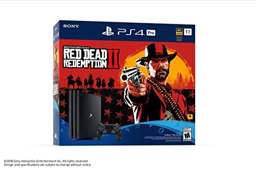 Console PlayStation Ensemble PS4 Pro du jeu Red Dead Redemption 2 - 2