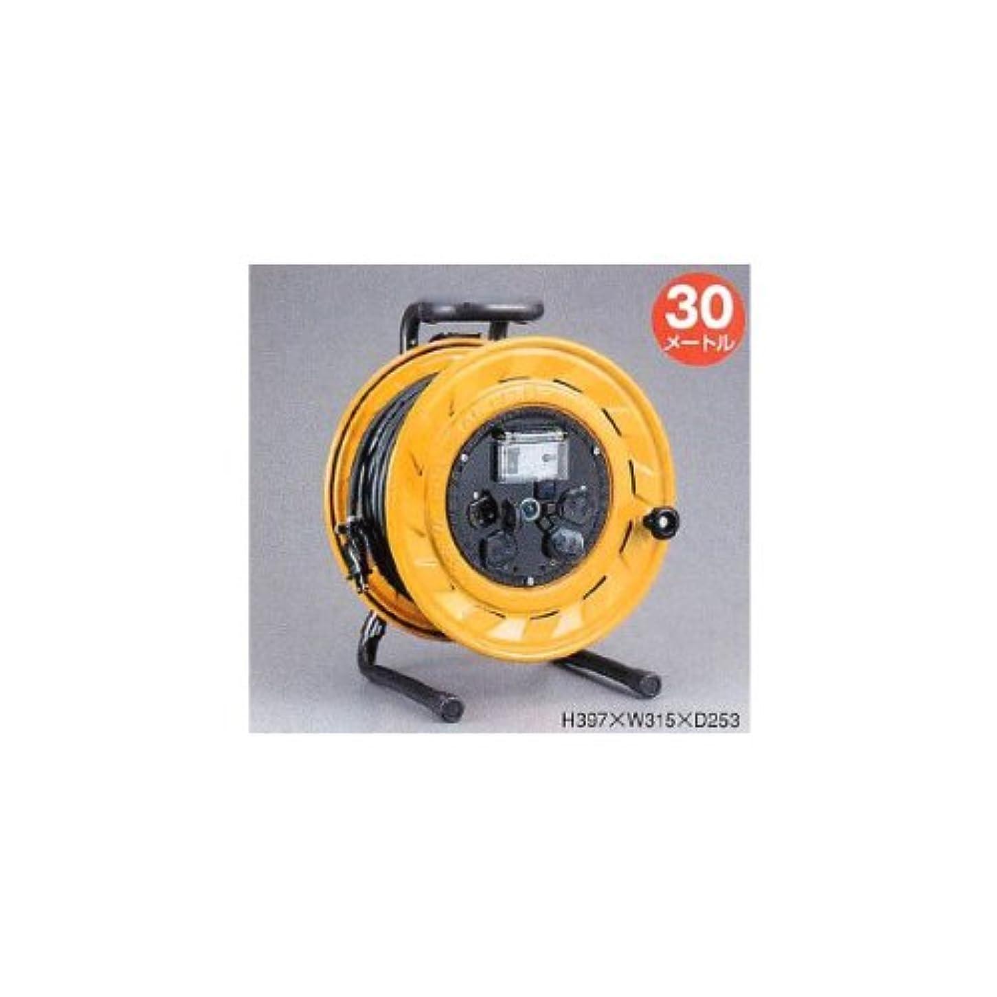 注入国民狂人漏電遮断器付 BR型コードリール 100V型 BS-301【メーカー取寄品】