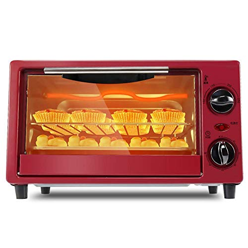 Smart Oven Mini Oven, Household Mini Barbecue, Multi-Function Oven, S-Type RVS Elektrische verwarming Tube, Pizza, geborsteld
