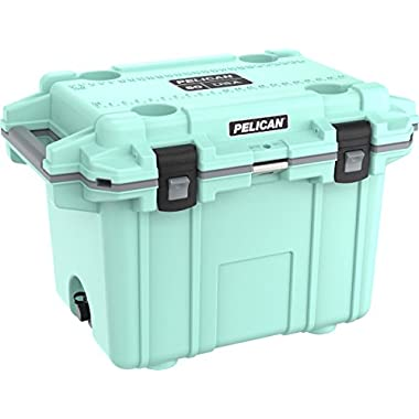 Pelican Elite 50 Quart Cooler (Seafoam/Gray)