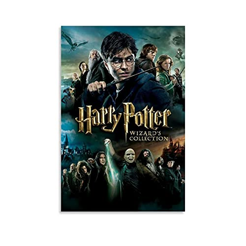 Póster de Harry Potter Wizard Fine Canvas Art Poster and Wall Art Impresión de imagen moderna de estudio familiar decoración de oficina cartel y barra de tiendas decoración de 40 x 60 cm