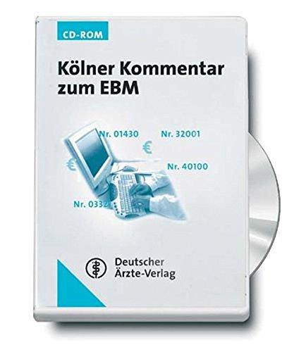 Kölner Kommentar zum EBM. CD-ROM für Windows ab 95 [import allemand]
