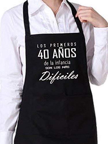 Didart Handmade Delantal cocina personalizado hombre mujer cumpleaños