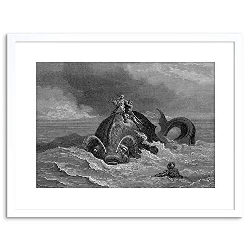 The Art Stop Painting Dore Orlando FURIOSO Old Master Framed Print F97X3569