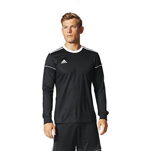 adidas Herren Squadra 17 Long Sleeve Trikot, Black/White, XL