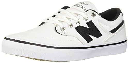 New Balance Men's 331v1 Skate Shoe, White/Black, 4 D US