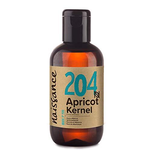 Naissance Aprikosenkernöl (Nr. 204) 100ml - rein, natürlich, vegan, gentechnikfrei - feuchtigkeitsspendend & pflegend