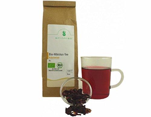 Hibiscus Tea Tea organikoa 100 g