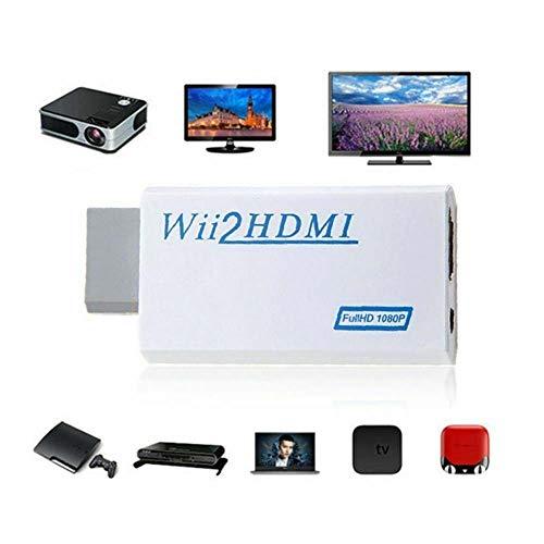 Bebliss Wii naar HDMI-adapter ondersteunt alle Wii-weergavemodi