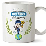 Taza de té mecánica Workers of The World in Spanish