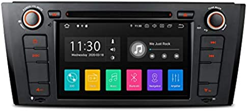XTRONS Android 10.0 Car Stereo Radio DVD Player GPS Navigation 7 Inch Touch Screen Head Unit Support Android Auto Car Auto Play Bluetooth Backup Camera WiFi DVR OBD2 TPMS for BMW E81 E82 E88 1 Series