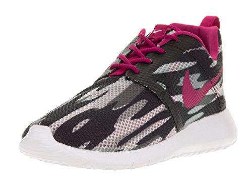 Nike NIKE Kids Roshe One Flight Weight (GS) Black/White/Wolf Grey/PR Pltnm Running Shoe 5 Kids US