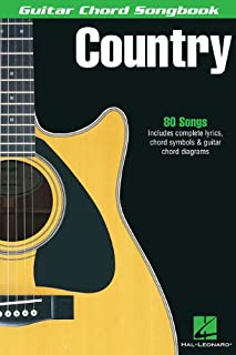 Country (Guitar Chord Songbooks)