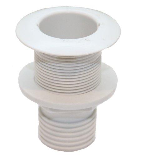 Boorddoorlaat met ventielklep voor slang 1 1/2 inch