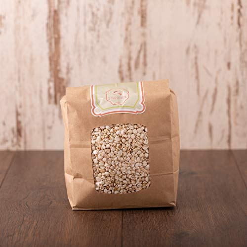 süssundclever.de® Bio Buchweizen | gepufft | 500 g (2 x 250 g) | Premium Qualität | plastikfrei und ökologisch-nachhaltig abgepackt