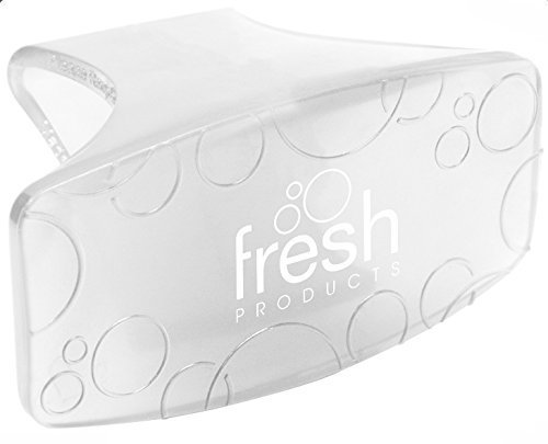 Fresh Products Eco-Fresh Bowl Clip, Honeysuckle Scent, Clear - 12 clips.
