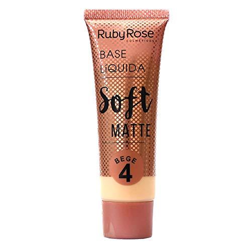 Base Líquida Soft Matte Bege HB-8050 Ruby Rose - Cor B04