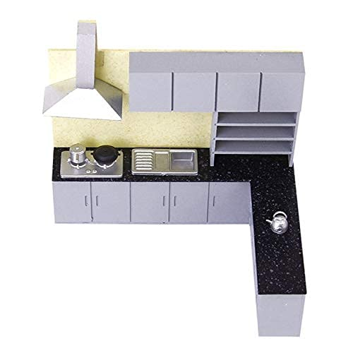 Generic Simulation Kitchen Cabinet Set M l Kit Furniture 1:25 R1