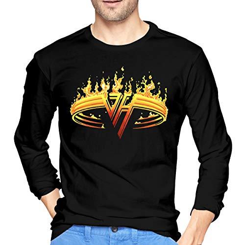 Van Halen Ring of Fire Logo Long Sleeve T-shirt for Men, 4 Colors, S to XXL