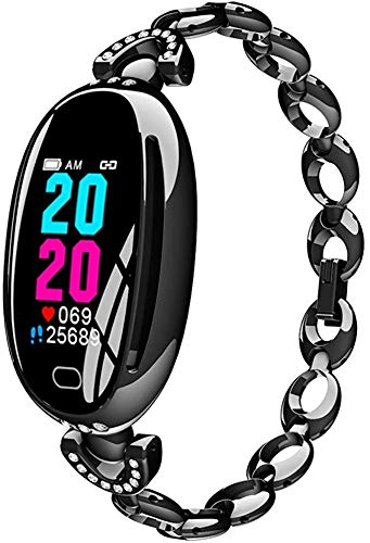 Amazing Deal DANUO Fitness Tracker, Activity Tracker with 0.9inch IPS Color Screen Long Battery Life Smart Watch with Sleep Monitor Step Counter Calorie Counter Smart Bracelet for Women (Black)